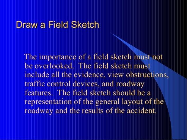 On-Scene Traffic Accident Investigation Level I by SLF
