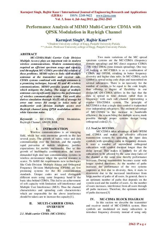 Karmjeet Singh, Rajbir Kaur / International Journal of Engineering Research and Applications (IJERA) ISSN: 2248-9622 www.i...