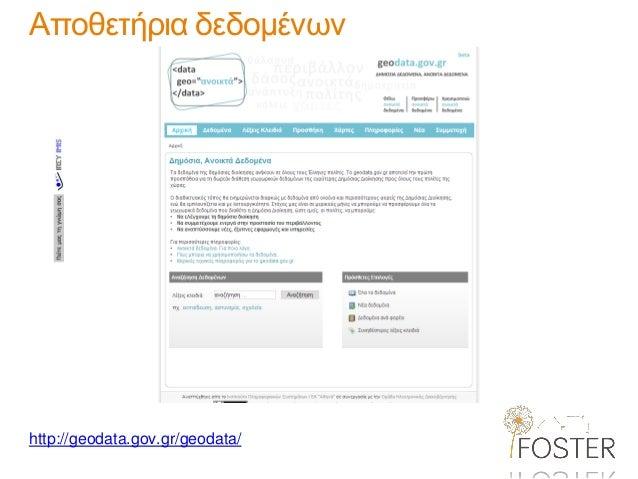 http://geodata.gov.gr/geodata/  Αποθετήρια δεδομένων