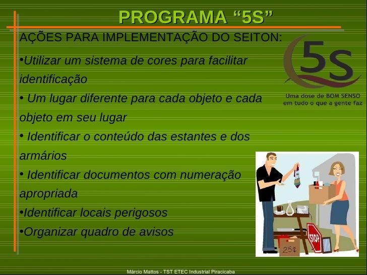 Os 5 S Na Empresa Organização Limpeza Ordenação