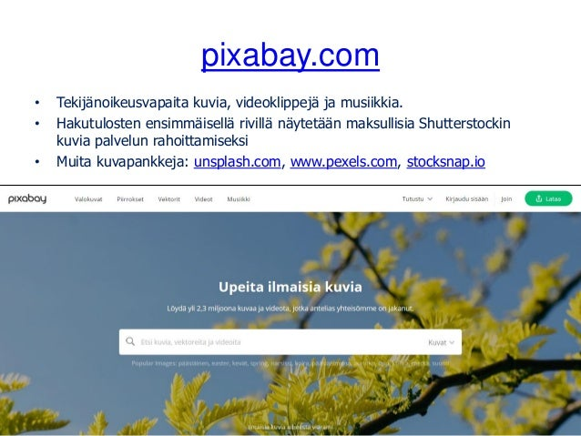 Avointen oppimateriaalien kirjasto • Oppimateriaaleja ja ohjeita verkkopedagogiikkaan: aoe.fi • Oppimateriaalien jakamisee...