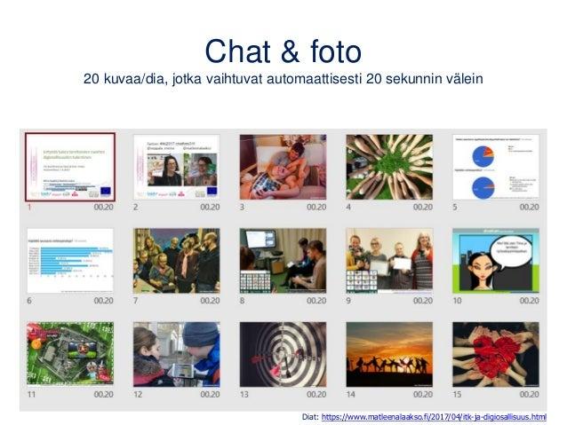 Videot opetuksessa Oppijat ja osallistujat tekijöinä, yksin tai pienryhmissä • Oppimisprosessin dokumentointi • Osaamisen ...