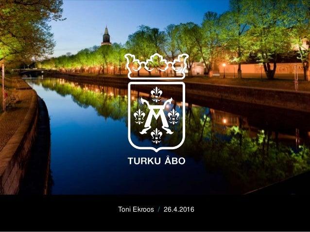 Toni Ekroos / 26.4.2016