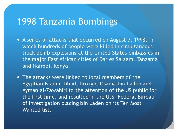 Image result for u.s. embassies bombed in east africa