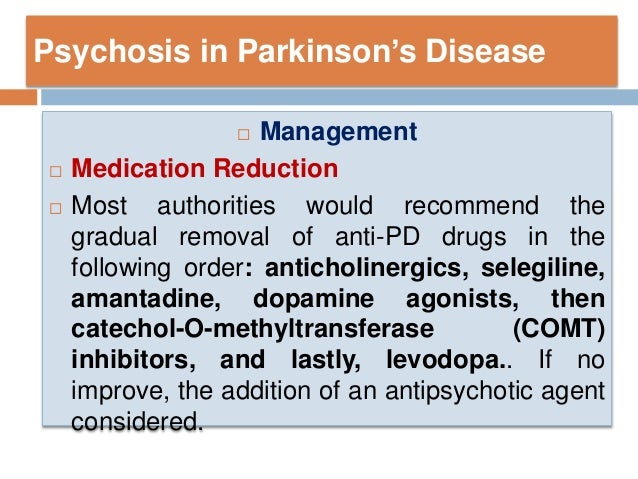 non motor manifestation of parkinson disease