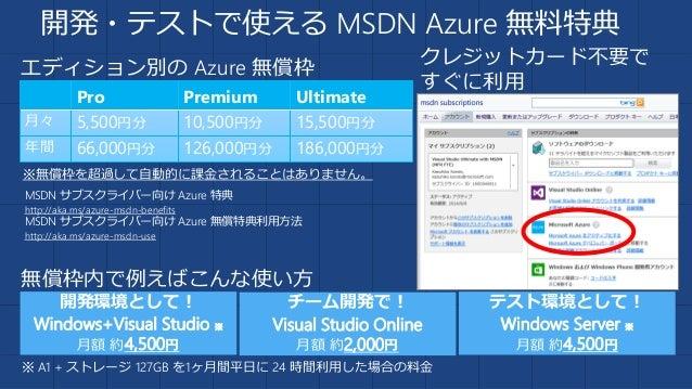 まとめ • Azure は IaaS だけでなく各種サービスを うまく使うことで、開発や運用、監視、コスト など大きなメリットを享受できます。 • 今後も Azure では数多くの機能追加/改善が計画 されています。Azure にますますご期待...