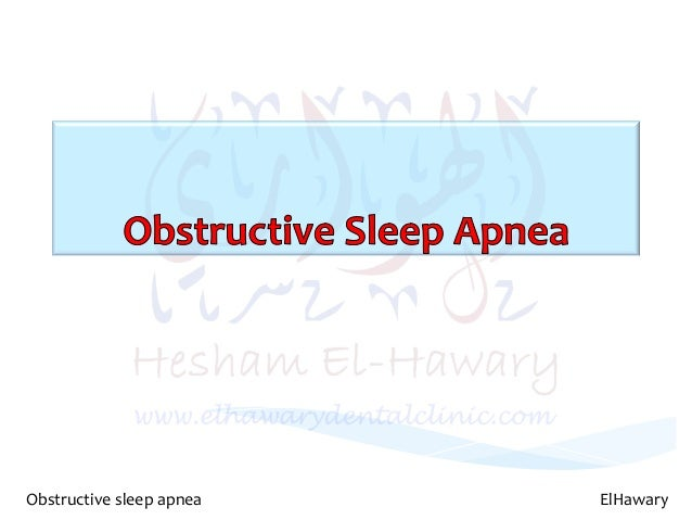obstructive sleep apnea essay Apnea: understanding and treating obstructive sleep apnea is the third in a projected series of web sites produced by the harvard medical school division of sleep medicine and wgbh educational foundation essays, and interactive activities, as well as additional references.