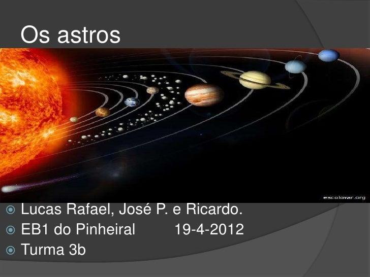 Os astros Lucas Rafael, José P. e Ricardo. EB1 do Pinheiral      19-4-2012 Turma 3b