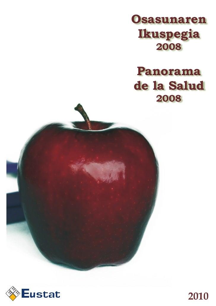 Osasunaren     Ikuspegia       2008    Panorama    de la Salud       2008u