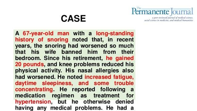Obstructive sleep apnea Slide 3