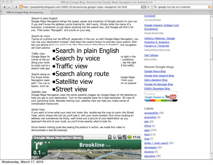 •Search in plain English                             •Search by voice                             •Traffic view           ...