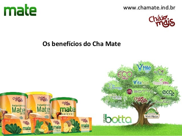 www.chamate.ind.brOs benefícios do Cha Mate