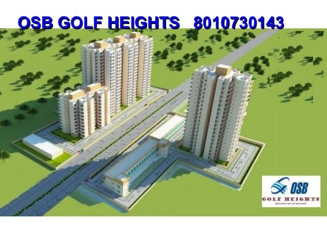 #Osb #golf #heights #sector #69 #gurgaon