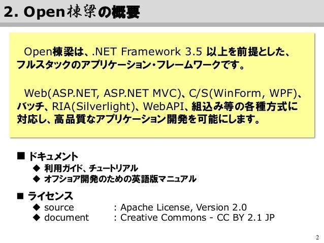 Open 棟梁 @ オープンソースカンファレンス 2015 Nagoya Slide 3