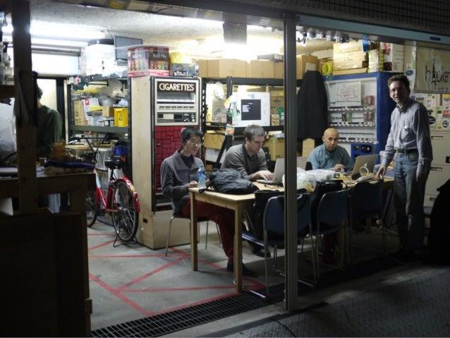 """前回までの資料  OSC 2013 Tokyo/Fall  Geekな仲間が集う場所  """"ハッカースペース""""に遊びに行こう!!  http://bit.ly/OSC2013-Fall-THS  OSC 2014 Tokyo/Spring  ハッ..."""