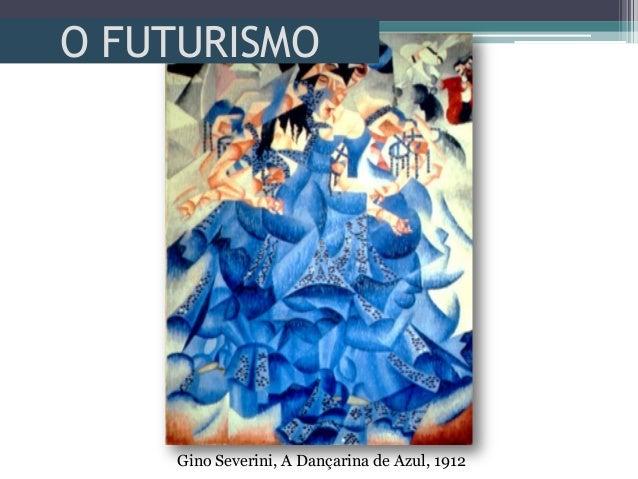 O FUTURISMOGino Severini, A Dançarina de Azul, 1912