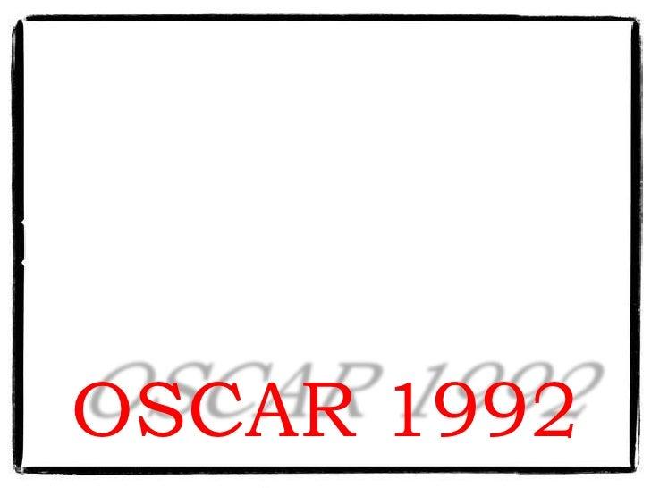 OSCAR 1992<br />