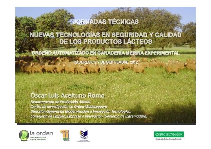 Finca Experimental Valdesequera                            Reb.ovino La Orden : 300                                      c...
