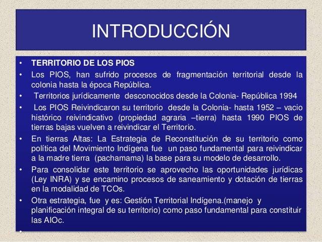 Las perspectivas de las TCO en el departamento de Potosí  Slide 2
