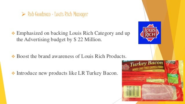 oscar mayers louis rich turkey bacon
