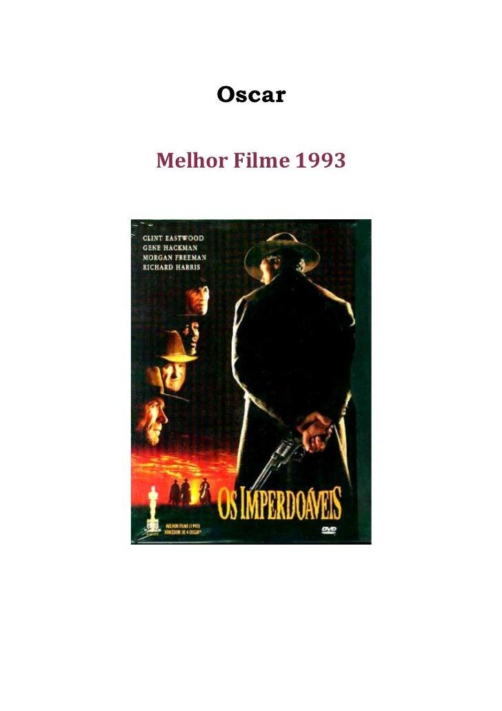 OscarMelhor Filme 1993