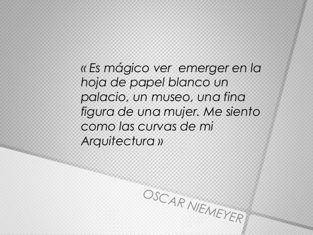 Oscar Niemeyer Analisis