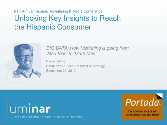 6TH Annual Hispanic Advertising & Media ConferenceUnlocking Key Insights to Reachthe Hispanic Consumer                  BI...