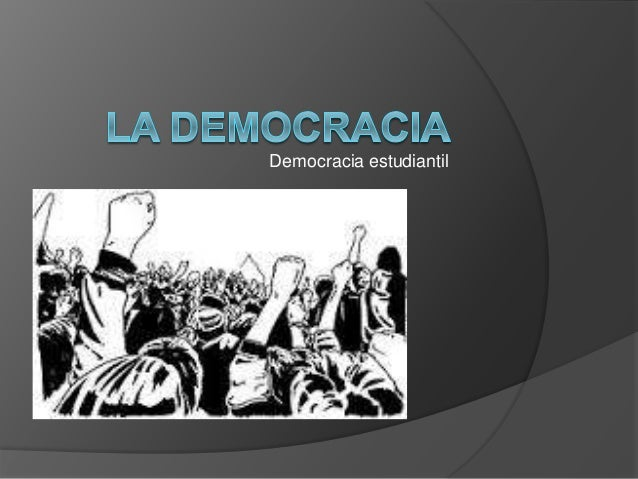 Democracia estudiantil