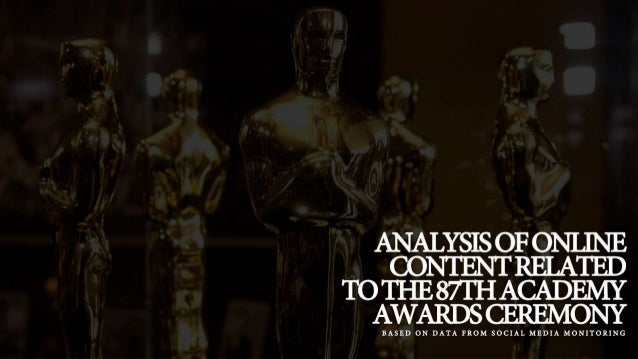 Social Media Discussion about The Oscars Based on Social Media Monitoring Slide 2