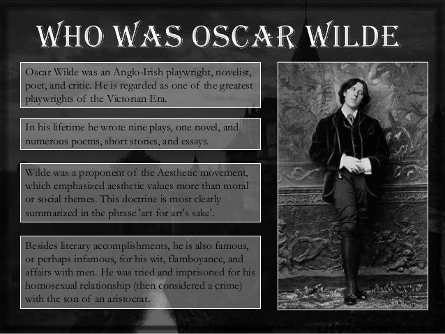 facts about oscar wilde essay Oscar wilde's most the beautiful, untrue things of the lyric essay both beauty and truth to a lyric essay consider for a moment wilde's own evidence.