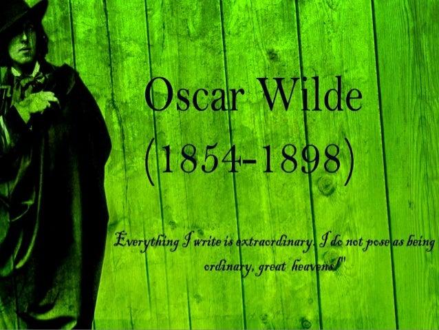 Oscar Wilde (1854-1900) Introduction. Oscar Wilde Personally. Wilde's Style Of Writing. Victorian Era. Major Works. ...