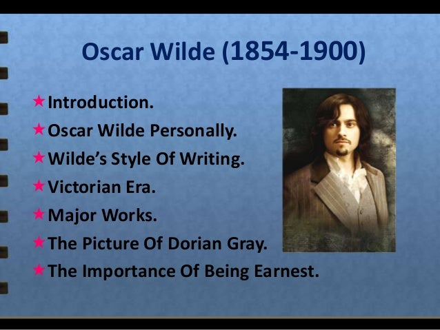 "an introduction to the life of oscar wilde In 1882 oscar wilde wrote an introduction to a collection of verse and while discussing principles of aesthetics he broached the topic of ""one's real life"" boldface has been added: 5."