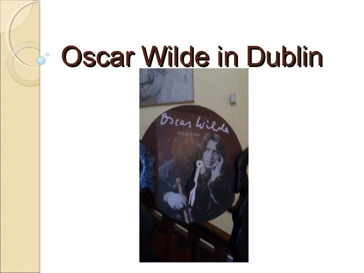 Oscar Wilde in Dublin
