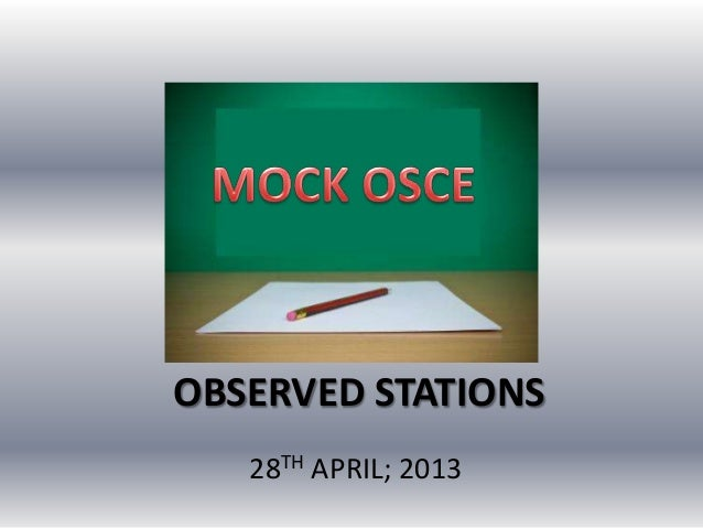 OBSERVED STATIONS28TH APRIL; 2013