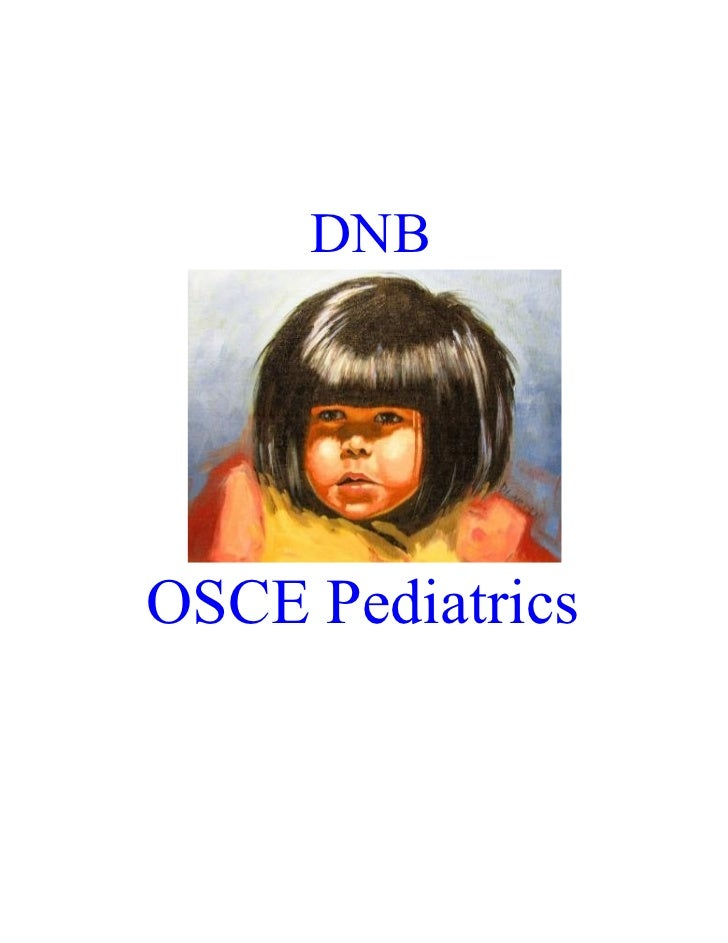 DNBOSCE Pediatrics
