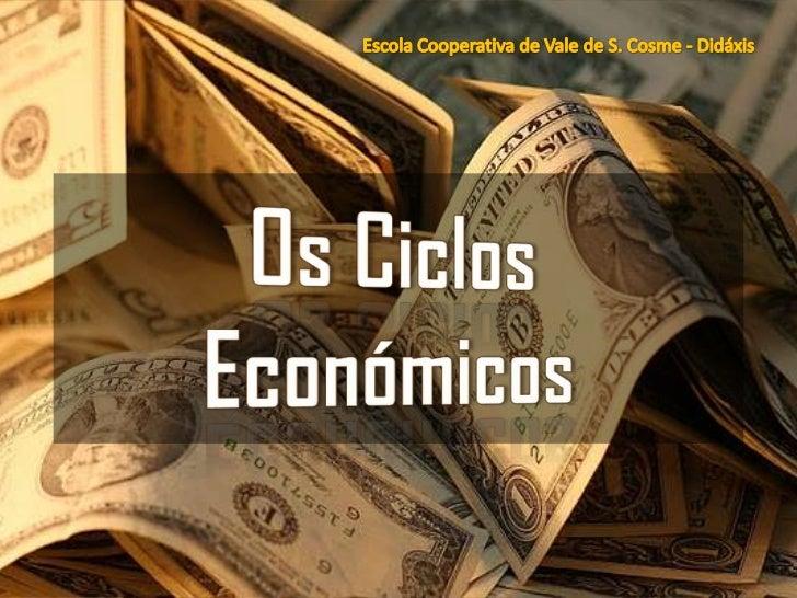 IntroduçãoOs Ciclos Económicos                2
