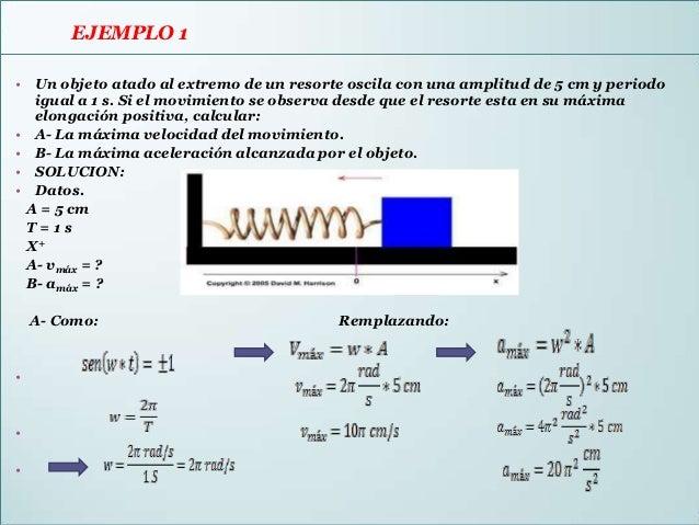 • EJEMPLO 2  EJEMPLO 2Un cuerpo describe un movimiento circular uniforme (MCU) con una velocidad angular  de 20π rad/s y r...