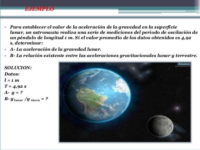 A- La gravedad lunar es:La relación entre las gravedades lunar y terrestre es:                              La gravedad lu...