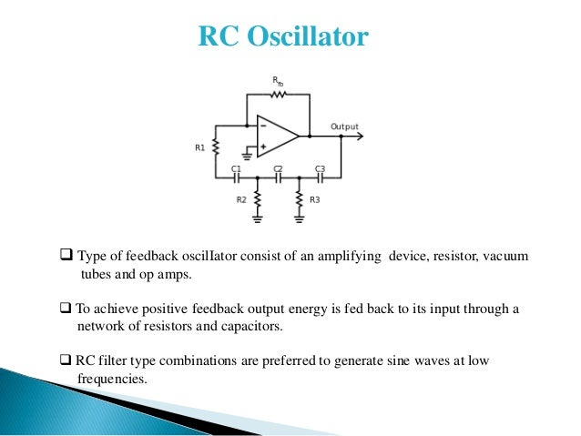 Basics of Oscillator theory