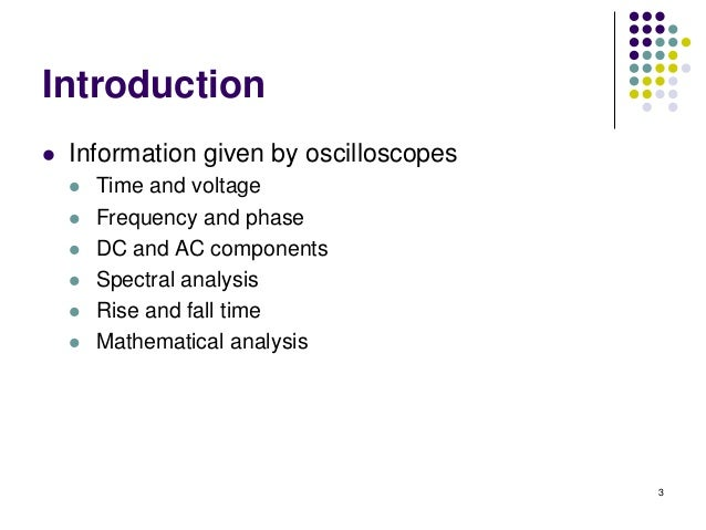 oscilloscopes