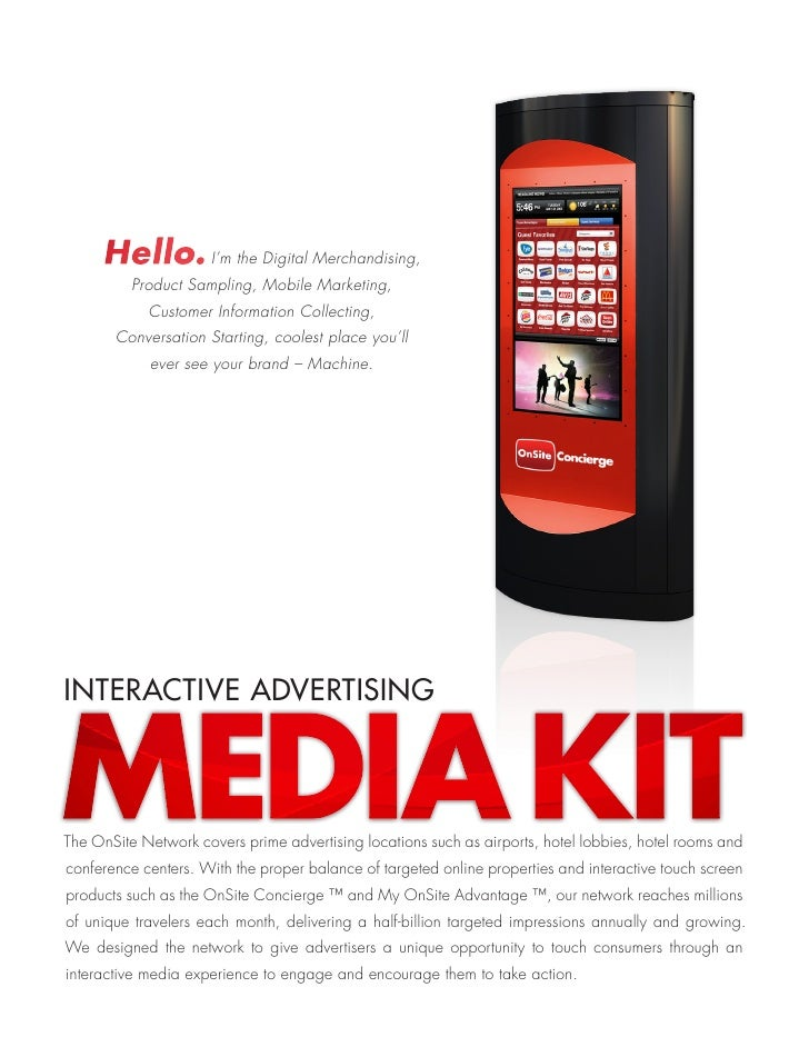 Hello. I'm the Digital Merchandising,           Product Sampling, Mobile Marketing,             Customer Information Colle...