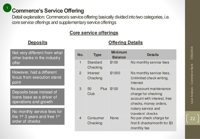"""commerce bank case study In may 2012, the superior court of pennsylvania filed its decision in commerce bank/harrisburg, na v kesslerits decision turned a commonly held belief among title companies — that the mechanics' lien law provides a lien priority """"safe harbor"""" for all open-end construction mortgages — upside-down."""