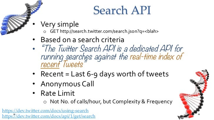 Search API • Very simple