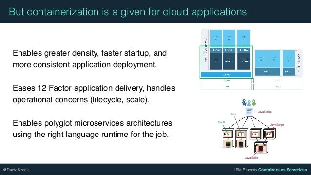 Containers vs serverless - Navigating application deployment options Slide 3