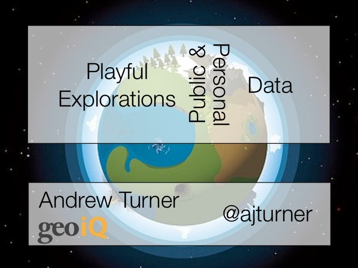 Personal                Public &   Playful                                  Data ExplorationsAndrew Turner                ...