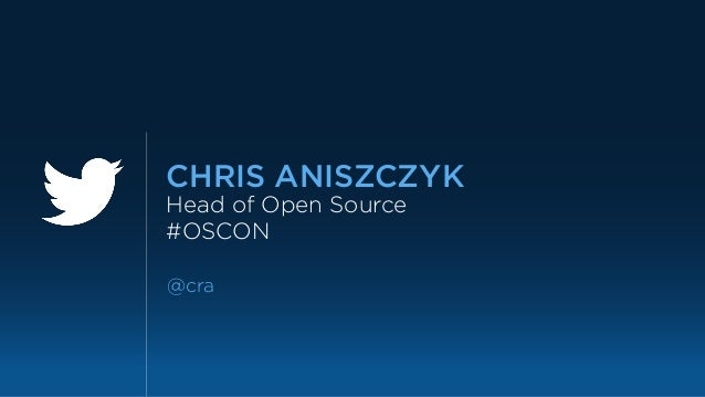 Creating an Open Source Office: Lessons from Twitter Slide 2
