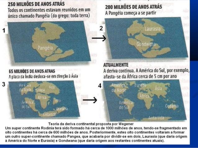 Os continentes