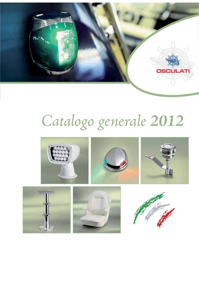 Catalogo generale 2012