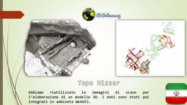 Abbiamo riutilizzato le immagini di scavo per l'elaborazione di un modello 3D. I dati sono stati poi integrati in ambiente...