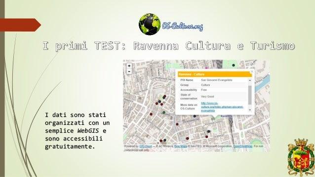 I dati sono stati organizzati con un semplice WebGIS e sono accessibili gratuitamente.